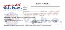 Youth VIBE Pledge Card 2016